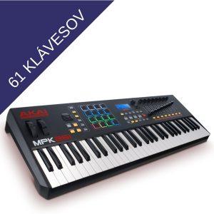 61 klávesov