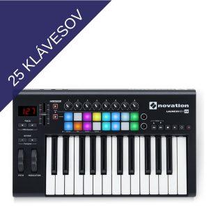 25 klávesov